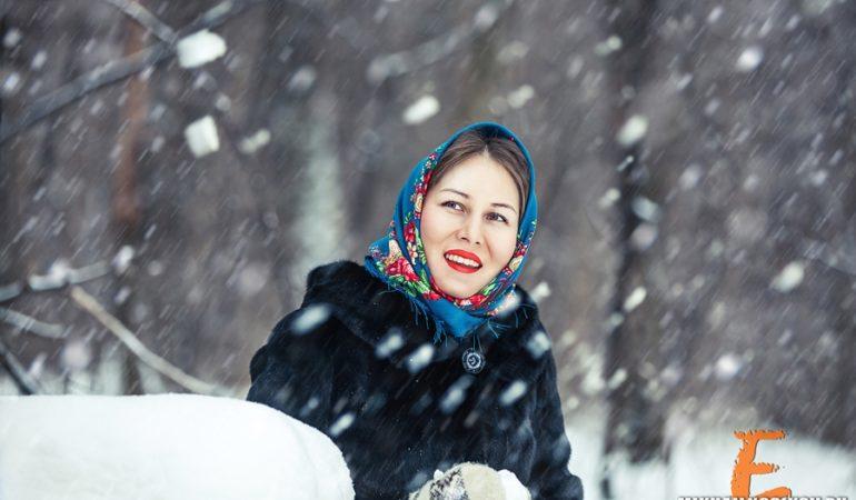 Светлана. Прогулка в Рождество