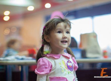 Детский день рождения — Полине 3 года!