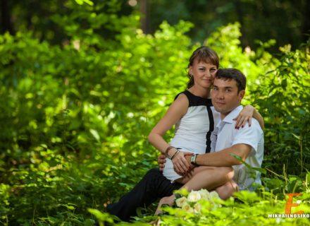 Евгений и Алена. Фотосессия в день ВДВ