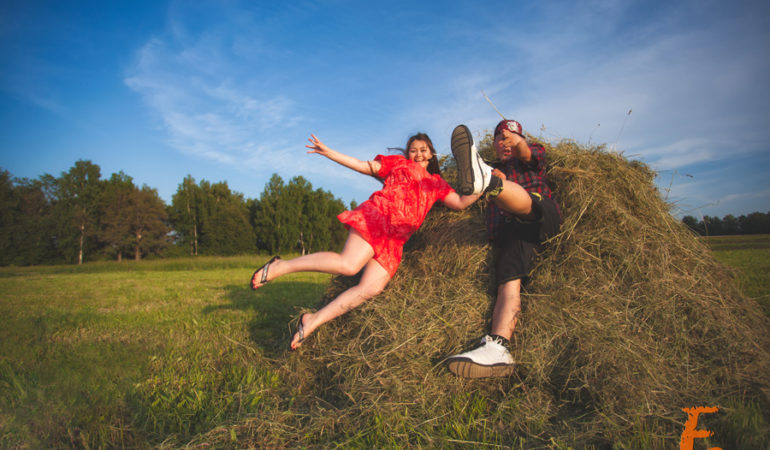 Love story + свадьба. Андрей и Алена
