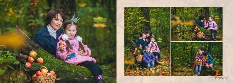 Дочки матери. Семейная фотосессия