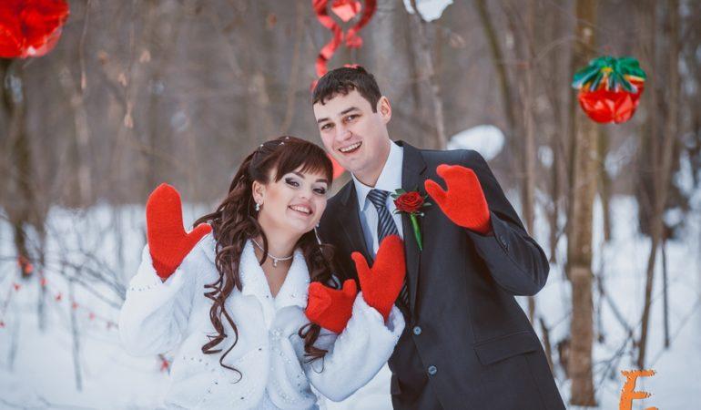 Евгений и Алена. Снежная зима