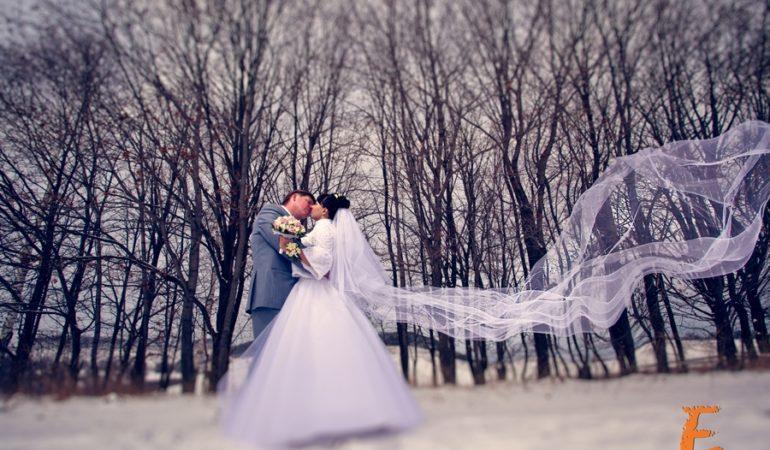 Свадьба зимой. Где фотографироваться? Особенности и советы