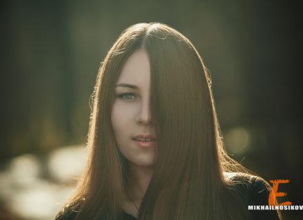 Фотосессия в лесу. Светлана