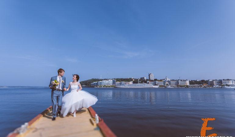 Костя и Оксана. Свадьба любящих сердец