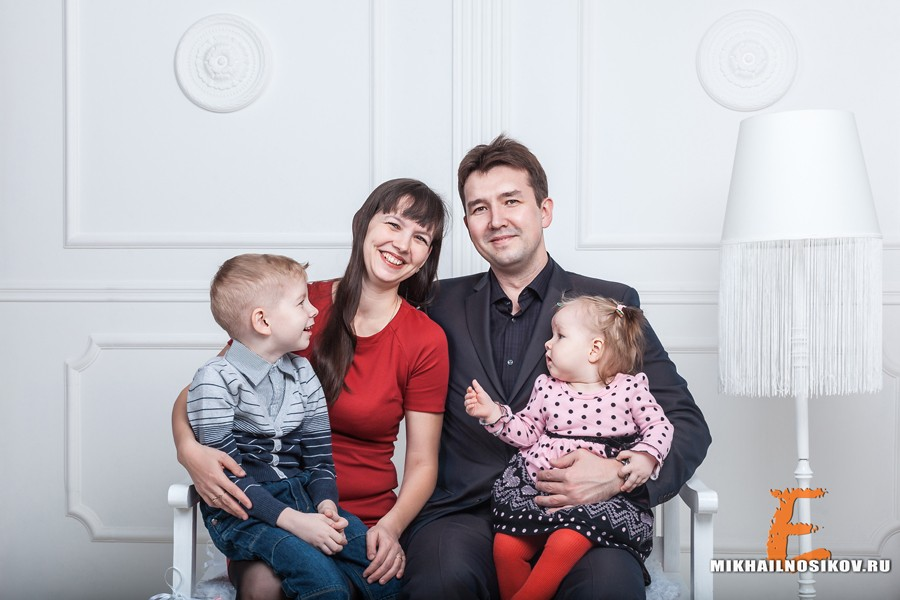 Фотосессия семьи