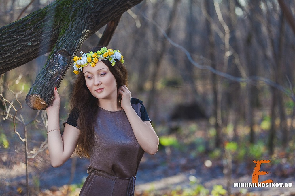 Мария. Фотосессия в парке