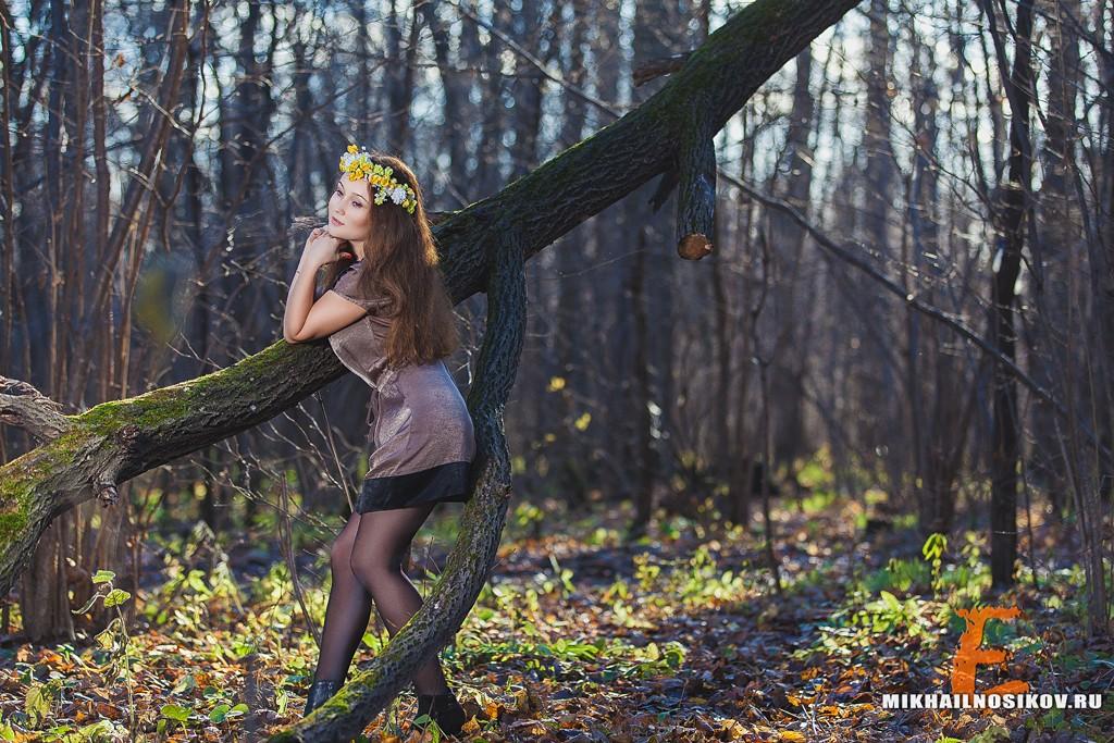 Фотосессия в парке. Мария