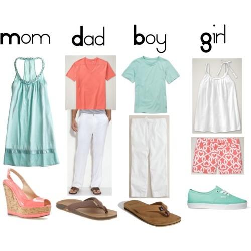 Что одеть на семейную фотосессию