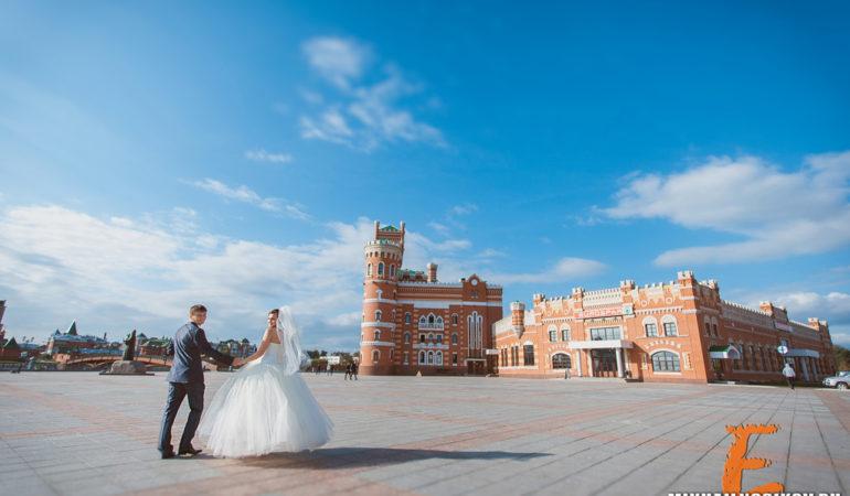Андрей и Юля. Свадебная фотосессия в г. Йошкар-Ола