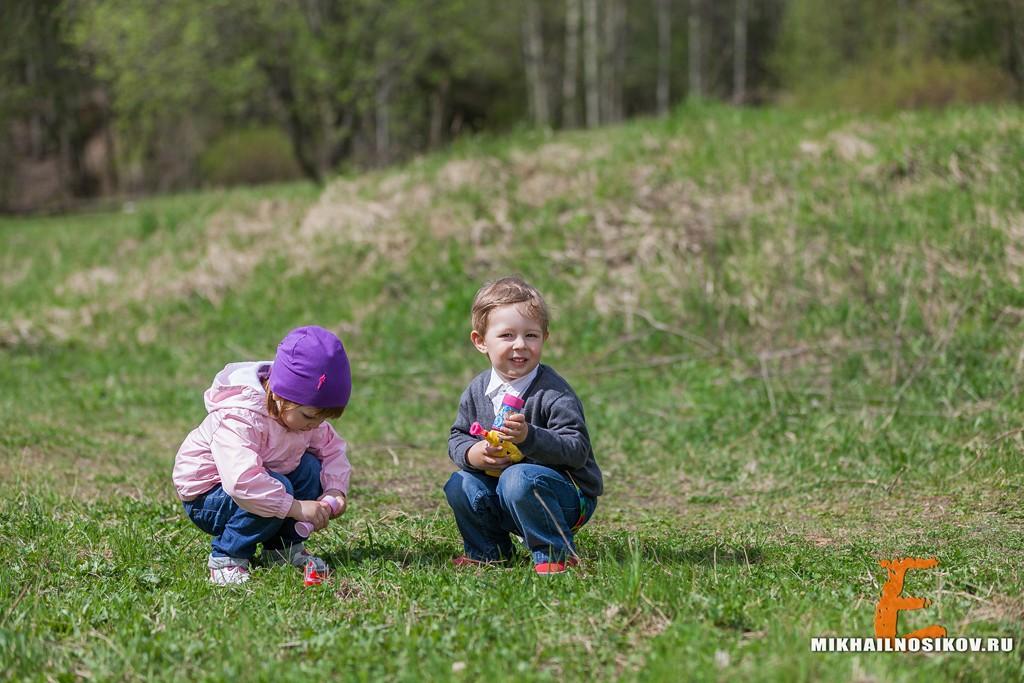 семейные фотографии на природе голышом