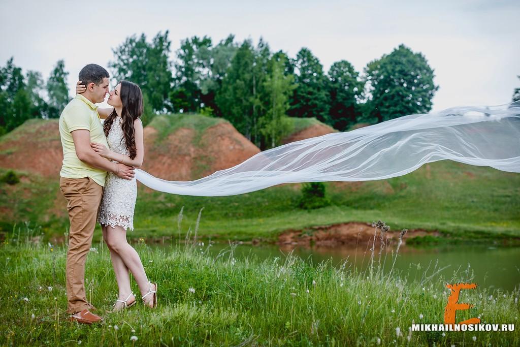 Love story фотосессия на природе