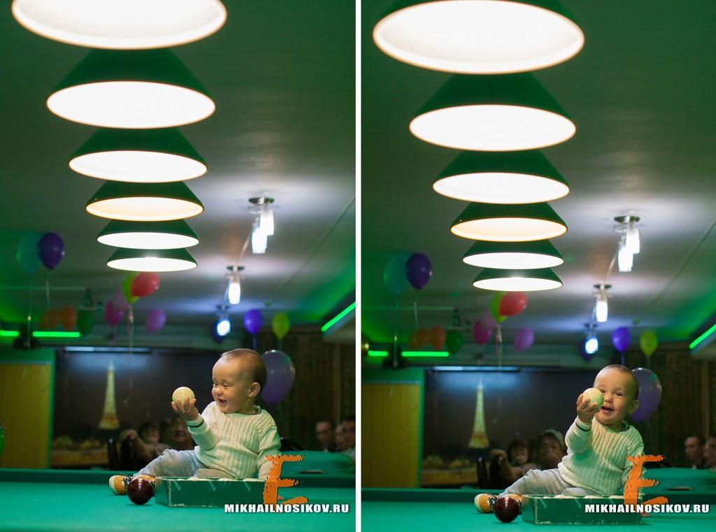 Детский день рождения - фотосессия