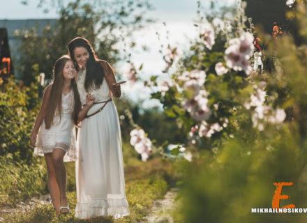 Мама и дочка. Фотосессия