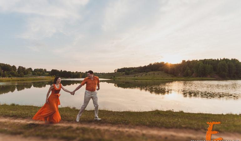 Фотосессия для влюбленных love story