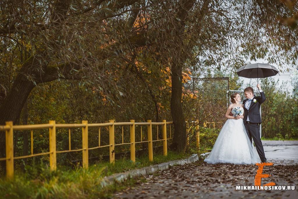 Свадебная фотосессия - осень