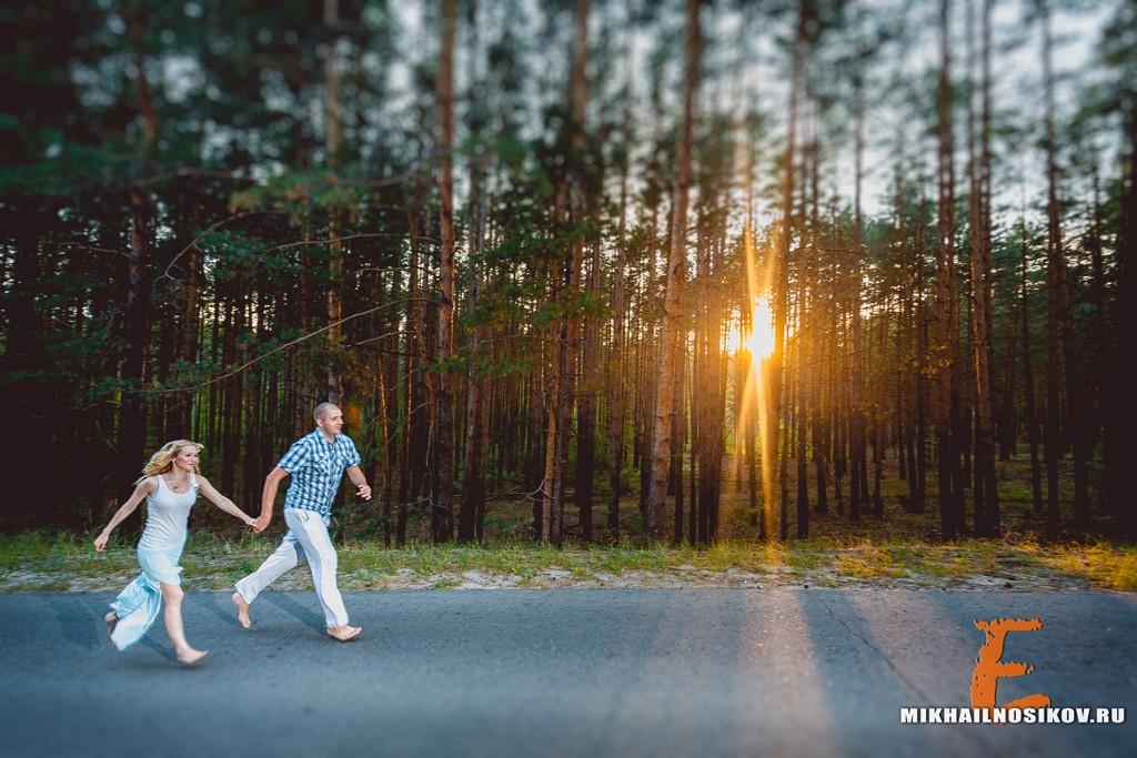 Фотосессия влюбленной пары Чебоксары
