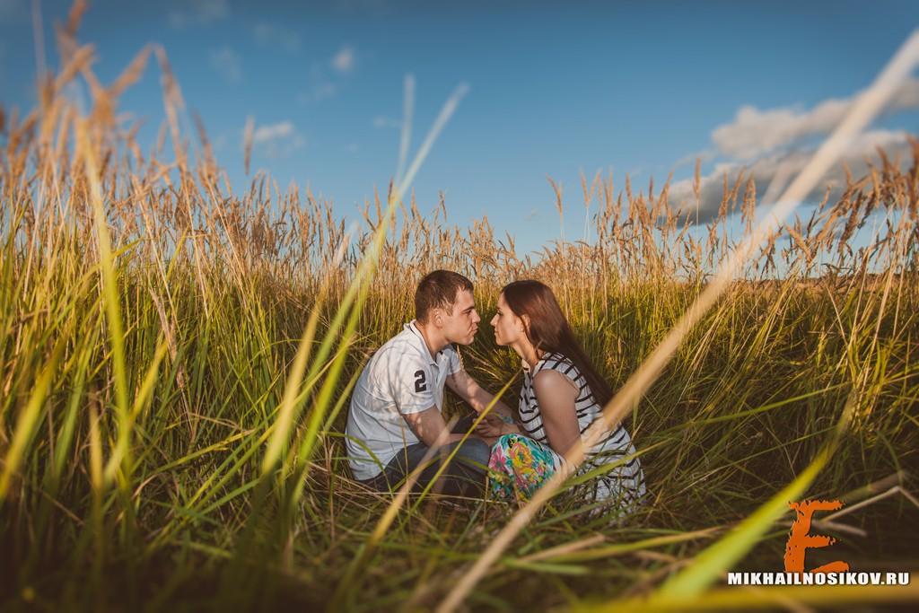 Love story на природе