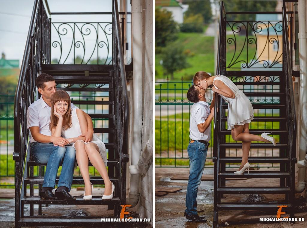 Семейная фотосессия - годовщина свадьбы