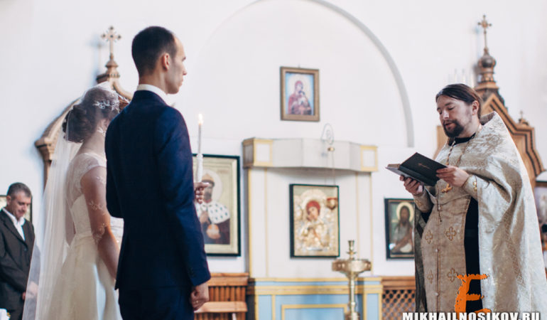 Венчание в церкви видео и фото