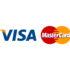 Принимаем к оплате карты Visa и MasterCard