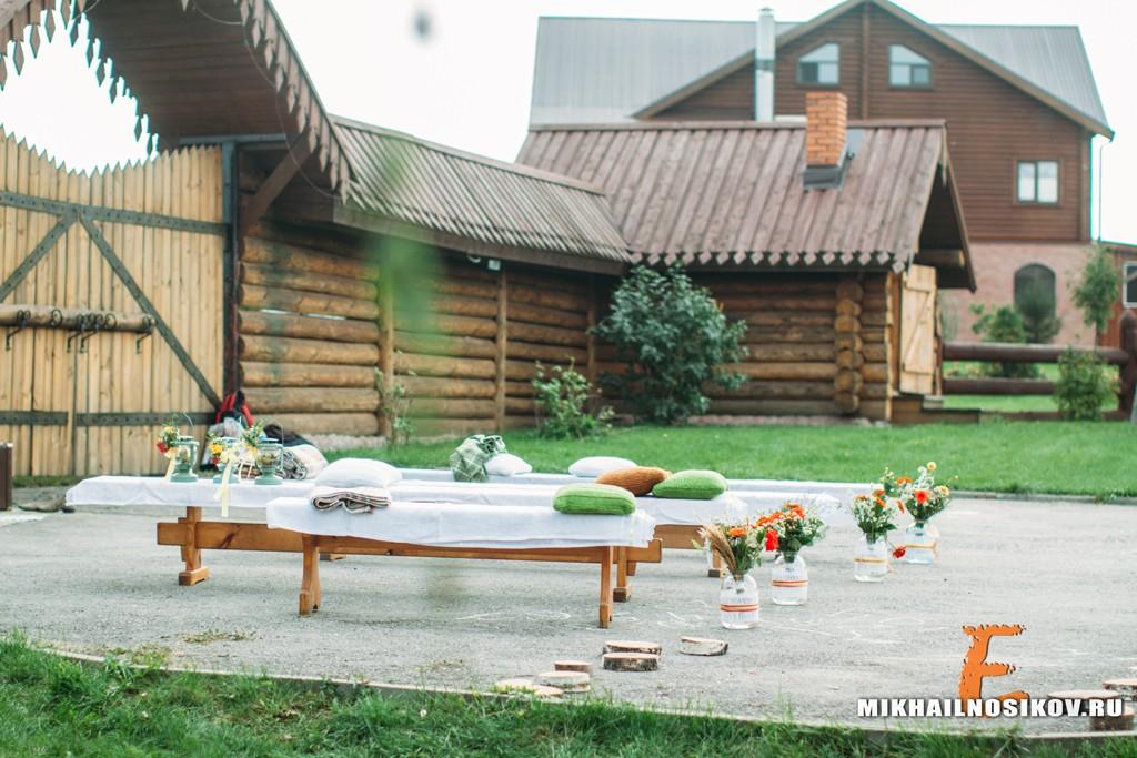 Игорь и Татьяна. Свадьба в стиле рустик