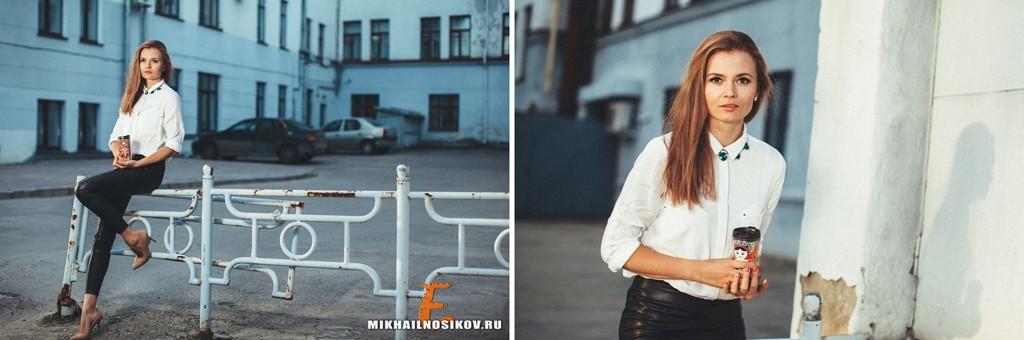 Фотосессия в городе