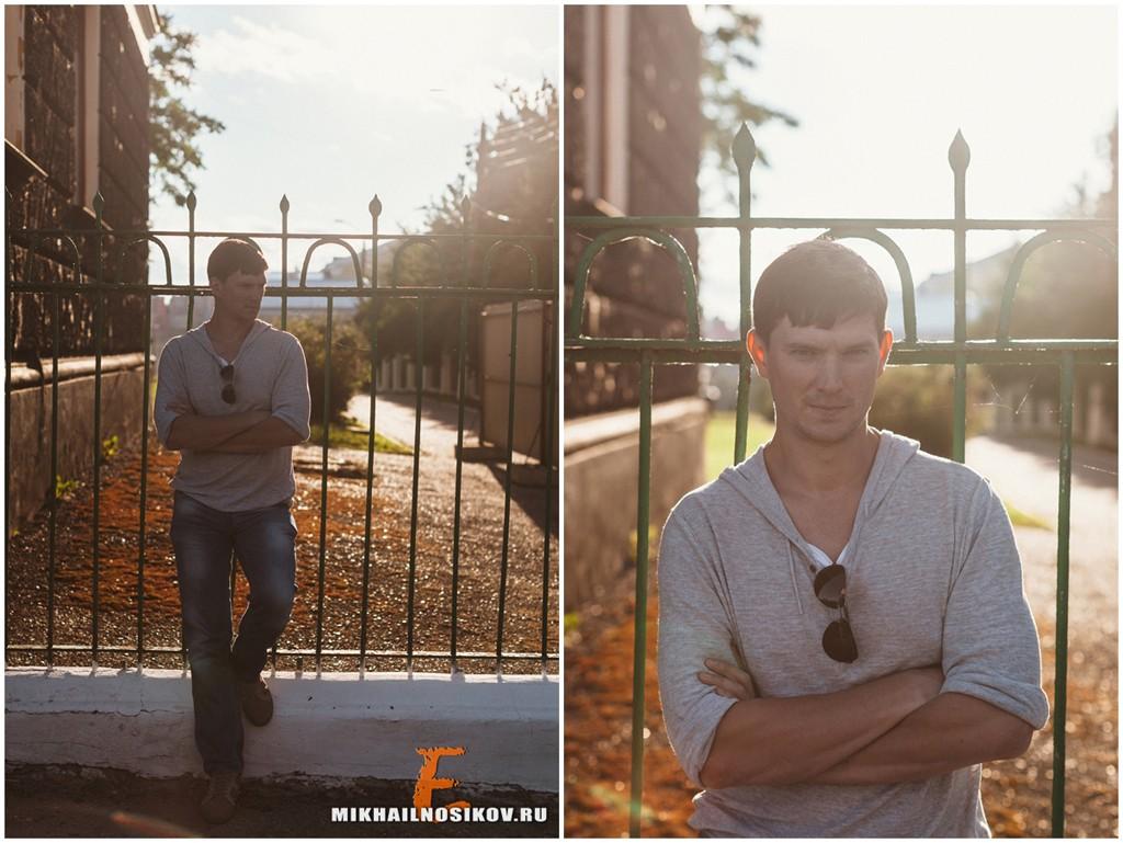 Мужская фотосессия