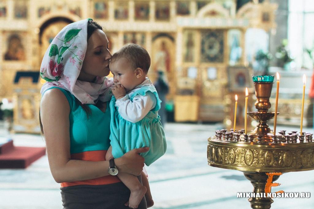 Крещение видео