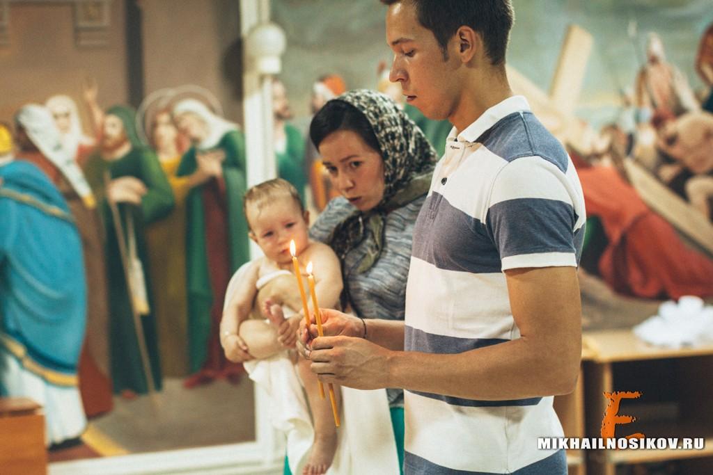 Видео крещения