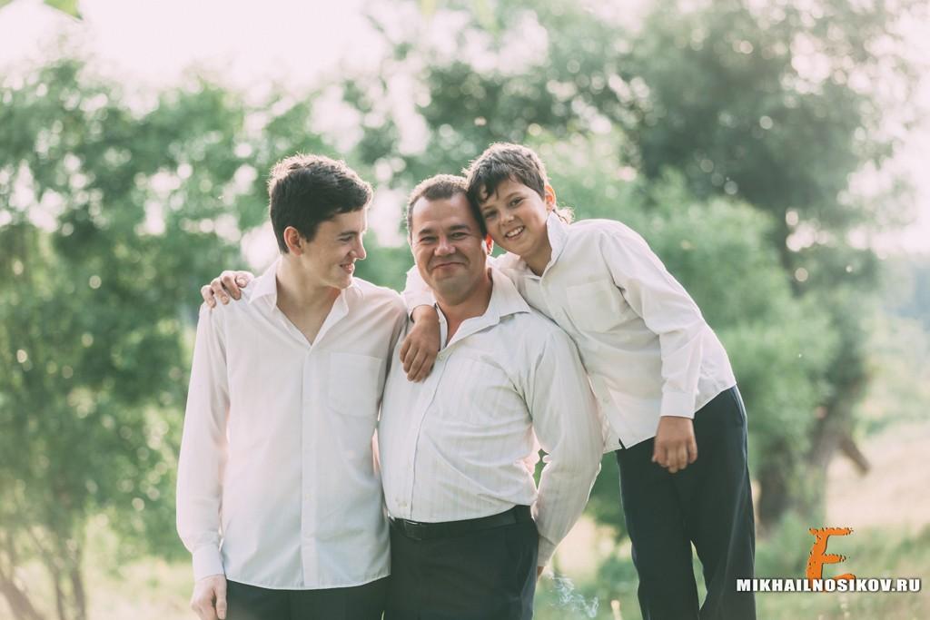 Фотосессия с детьми на годовщину свадьбы