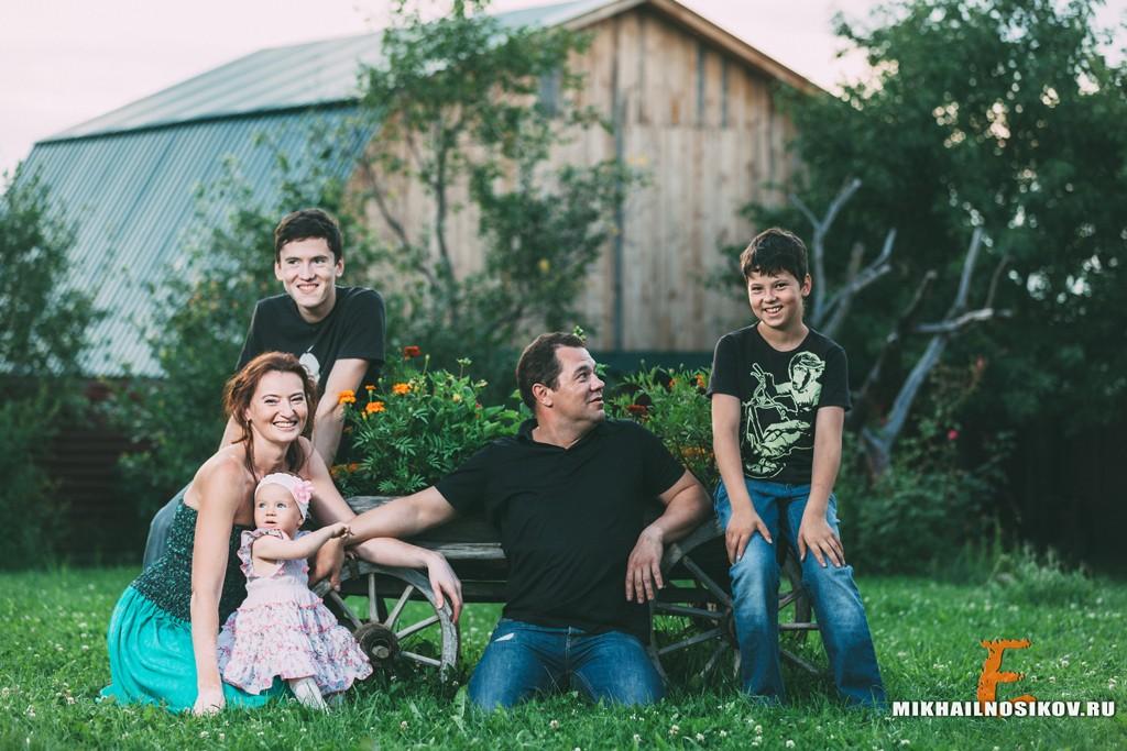 Семейная фотосессия на годовщину