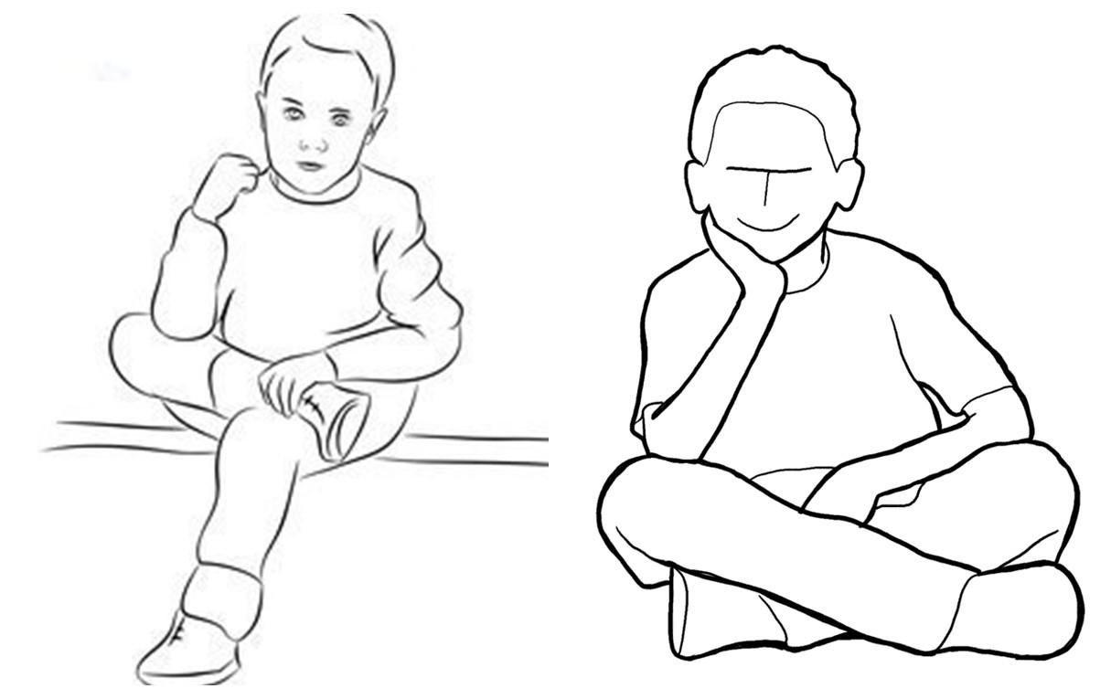 Позы для детской фотосессии