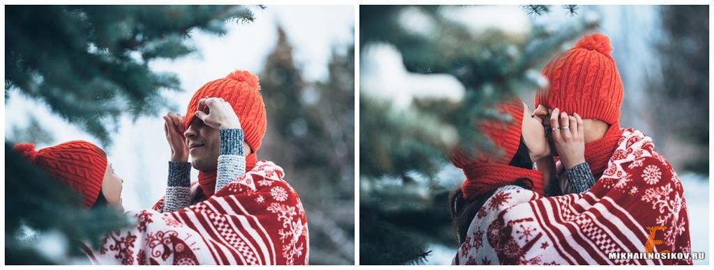 Фотосессия зимой идеи