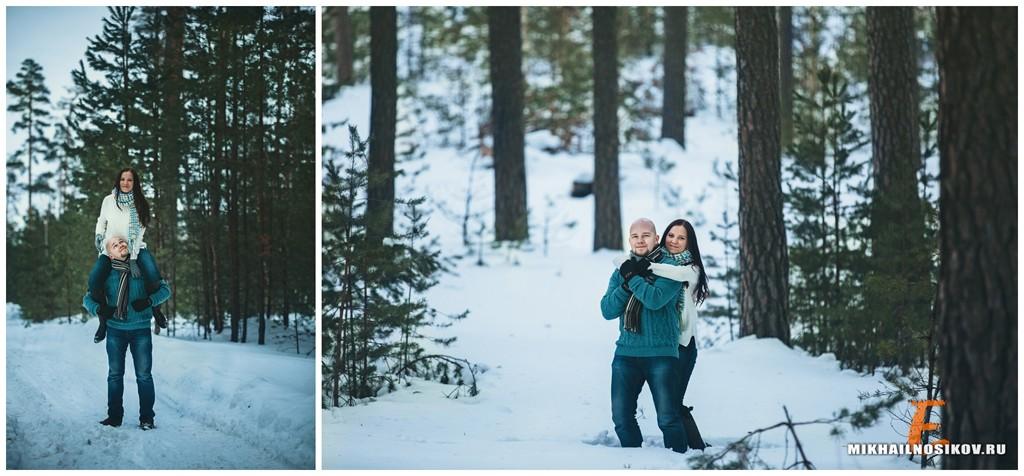 Зимняя лав стори фотосессия идеи