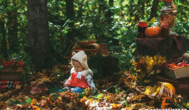 Осенний фотопроект на природе