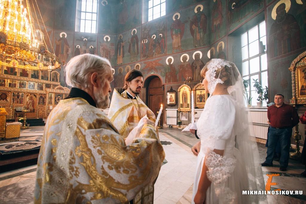 Венчание зимой