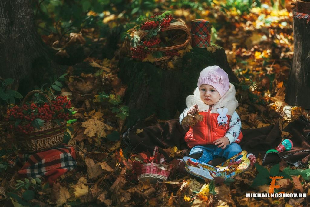 Семейная фотосессия осенью идеи