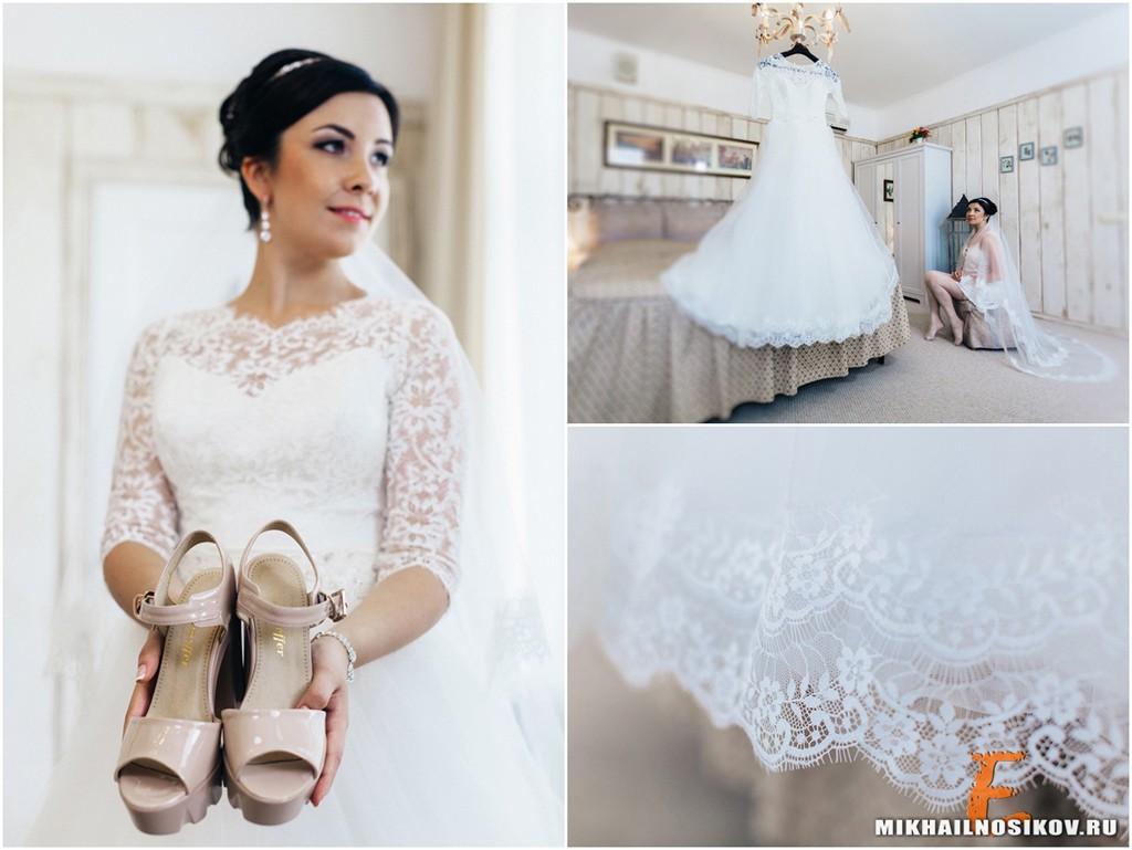 Утро невесты Чебоксары свадебное платье туфли