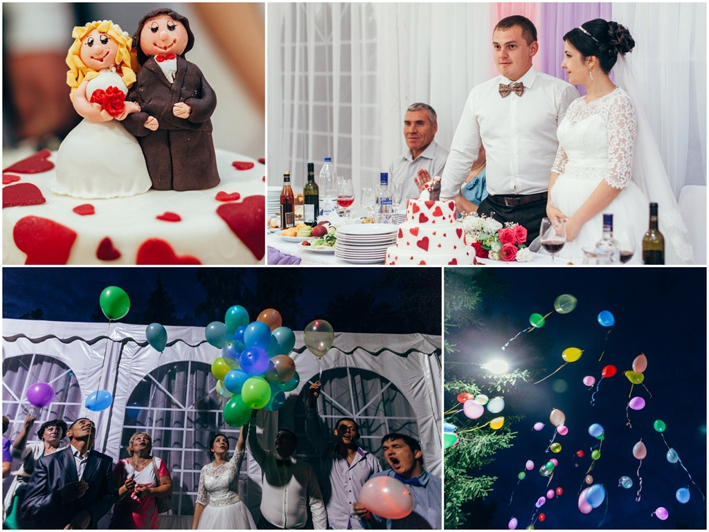 Банкет Чебоксары кантри отель Березки шатер свадебный торт