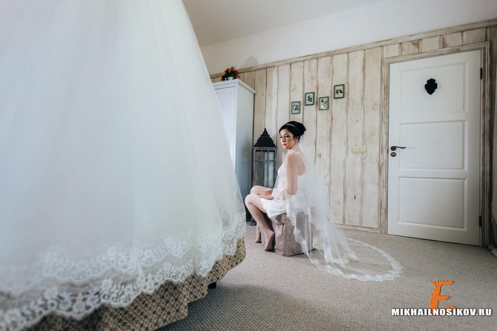 Утро невесты Чебоксары свадебное платье будуарная съемка