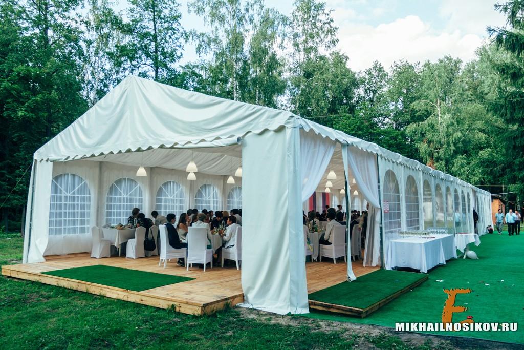 Банкет Чебоксары кантри отель Березки шатер