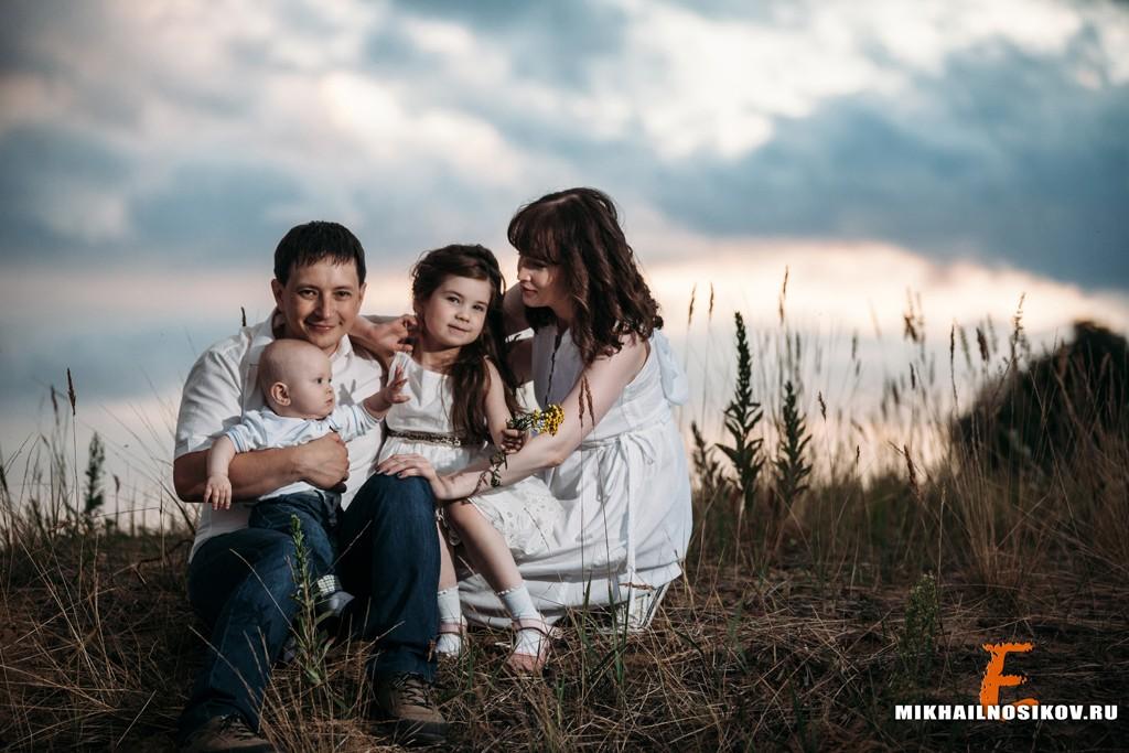 Фотосессия с детьми на природе