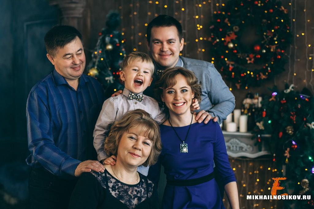 Новогодняя фотосессия Чебоксары