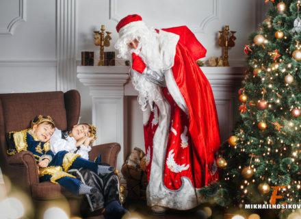 Новогодние фотосессии с детьми — идеи