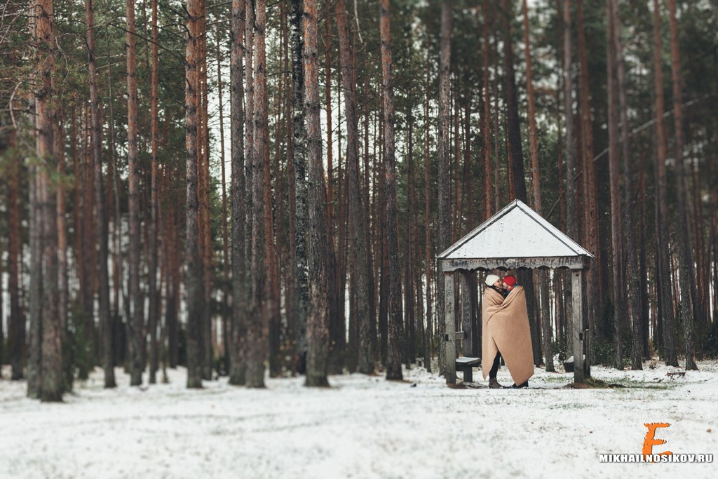 фотосессия в ожидании на природе