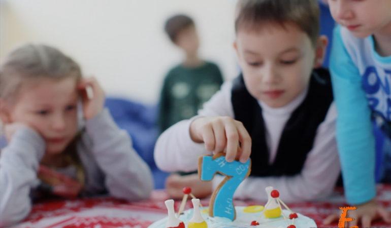 Детский день рождения. Видеосъемка