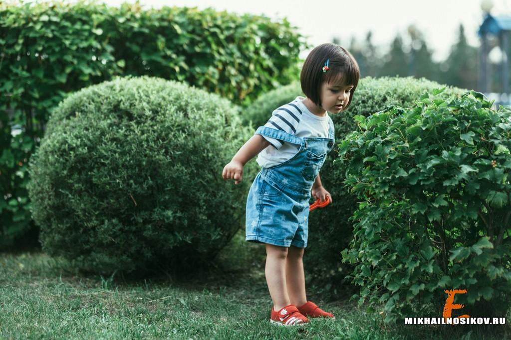 Фотосессия с ребенком на природе Чебоксары