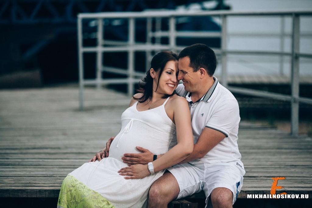 беременность фотосессия на природе