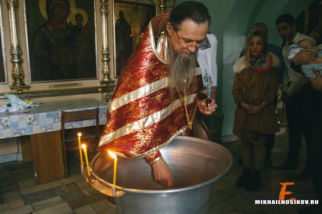 Видеосъемка крещения Чебоксары